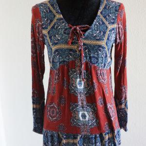 Anthropologie Socialite Tunic Dress size S
